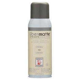 4 Units of Craft Spray Paint 10oz Crema Ubermatte Finish - Art Paints