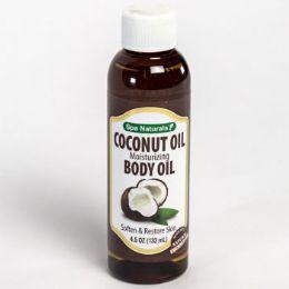 24 Units of Coconut Oil Moisturizing 4.5 Oz Bottle - Bath & Body