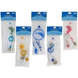 50 Units of Wind Chime 13 Inch Assorted Pp 2.99 Ea. Or 2/$5 - Home Accessories