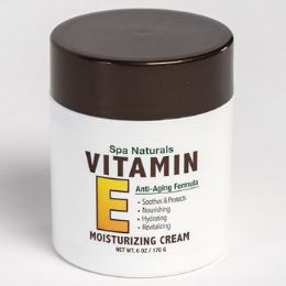 12 Units of Vitamin E Moisturizing Cream 6 Oz Jar - Bath & Body
