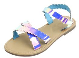 12 Units of Girl's Fashion Sandals In Purple - Girls Sandals