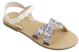 12 Units of Girl's Fashion Sandals In Pink - Girls Sandals