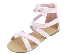 36 Units of Kid's Fashion Sandals In Pink - Girls Sandals