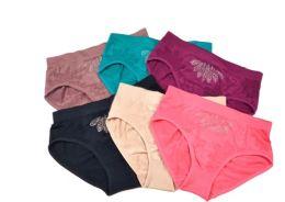 48 Units of Lady's Seamless Briefs With Rhinestones - Womens Panties & Underwear