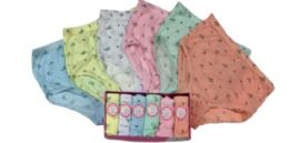 48 Units of Ladies' Cotton Panty - Womens Panties & Underwear