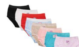 48 Units of Ladies' Nylon Briefs - Womens Panties & Underwear