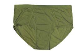 72 Units of Mens Cotton Brief In Green - Mens Underwear