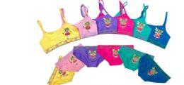 36 Units of Girl's Seamless Bra And Brief Set - Girls Underwear and Pajamas