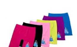 48 Units of Girl's Seamless Boyleg With design - Girls Underwear and Pajamas