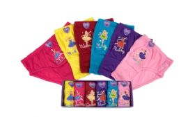 96 Units of Girls Cotton Panty - Girls Underwear and Pajamas