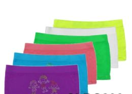 36 Units of Girls Seamless Brief - Girls Underwear and Pajamas