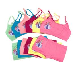 36 Units of Girl's Seamless Bra And Boxer Set - Girls Underwear and Pajamas