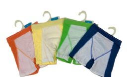 96 Units of Boy's 2 Tone Boxer Shorts With Hanger - Boys Underwear