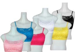 24 Units of Ladies' Seamless Bra With Padding And Lace - Womens Bras And Bra Sets