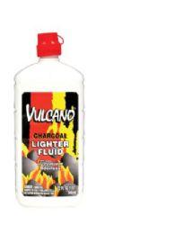 12 Units of Vulcano Charcoal Lighter Fluid 32 oz - BBQ supplies