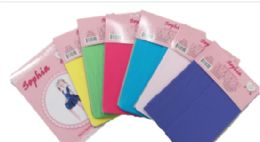 48 Units of Girl's Pantyhose Assorted Colors - Girls Socks & Tights