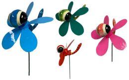 48 Units of Garden Stake Decoration Dragonfly - Garden Decor