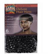 120 Units of Sable Beauty Deluxe Hair Nets 6 Pack - Bandanas