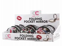 72 Units of Folding Pocket Mirror With Display - Cosmetic Cases