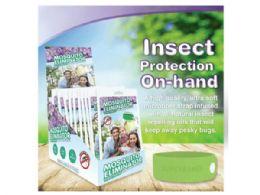 30 Units of 5 Pack Bug Eliminator Bracelet In Countertop Display - Bug Repellants