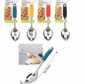 48 Units of Ideal Kitchen Stainless Spoon Slotted - Kitchen Utensils