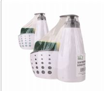 24 Units of Ideal Home Soap Dispenser Caddy With Sponge - Soap Dishes & Soap Dispensers