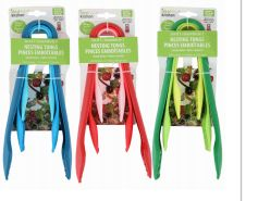 48 Units of Ideal Kitchen 3 Pack Nesting Tongs - Kitchen Gadgets & Tools