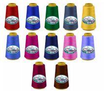 96 Units of Sewing Thread Assorted Colors - Sewing Supplies