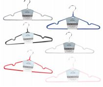 48 Units of Ideal Home Metal Hanger 3 Pack - Hangers