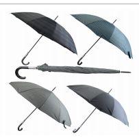 24 Units of Drops Umbrella Long Printed 25.5 Inches - Umbrellas & Rain Gear