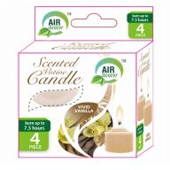 96 Units of Air Fusion Votive Candle 4 Pack Vanilla - Candles & Accessories