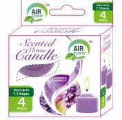 96 Units of Air Fusion Votive Candle 4 Pack Lavender And Vanilla - Candles & Accessories