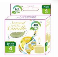 96 Units of Air Fusion Votive Candle 4 Pack Fresh Lemon - Candles & Accessories