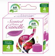 96 Units of Air Fusion Votive Candle 4 Pack Berry Blast - Candles & Accessories