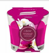48 Units of Air Fusion Candle 4 Ounce Magnolia And Jasmine - Candles & Accessories