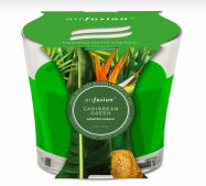 48 Units of Air Fusion Candle 4 Ounce Caribbean Green - Candles & Accessories