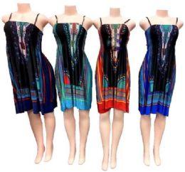 12 Units of Women's Short Fashion Dress - Womens Sundresses & Fashion