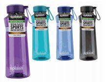 24 Units of Splash Tritan Bottle 27 Ounce With Rubber Handle - Drinking Water Bottle