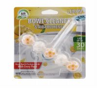 72 Units of Air Fusion Bowl Cleaner And Freshener 5 Pack Lemon - Air Fresheners