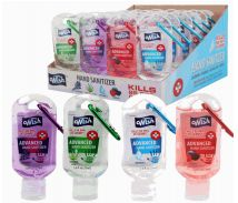 96 Units of Hand Sanitizer 1. 8Oz With Clip Display - Hand Sanitizer