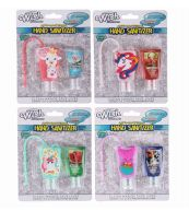 72 Units of Silicon Hand Sanitizer 2 Pack Girls - Hand Sanitizer
