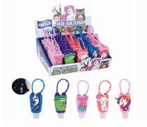 100 Units of Silicone Hand Sanitizer 1Oz Assorted Boys' And Girls - Hand Sanitizer