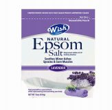 72 Units of Wish Epsom Salt 16oz.bag Lavender - Pain and Allergy Relief