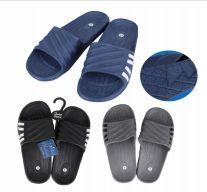 50 Units of Jm Sandals Mens 4 Side Stripes - Men's Flip Flops and Sandals