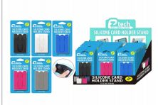 48 Units of Silicone Card Holder Phone Stand - Cell Phone Accessories