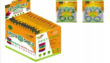 36 Units of Green Shield Mosquito Wristband 4 Pack - Pest Control