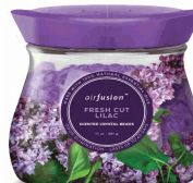48 Units of Air Fusion Crystal Beads 14oz. Fresh Cut Lilac - Air Fresheners
