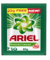 130 Units of Ariel 80 Grams - Laundry Detergent