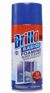 48 Units of Brillo Glass Cleaner Can Aerosol 12oz - Cleaning Products