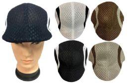 36 Units of Mesh Golf Hat - Fedoras, Driver Caps & Visor